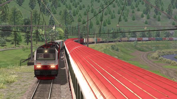 скриншот Train Simulator: ÖBB 1014 Loco Add-On 4