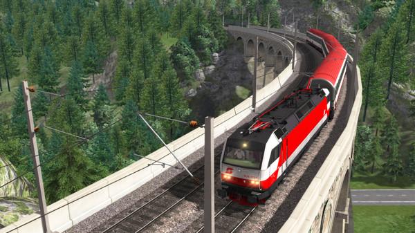 скриншот Train Simulator: ÖBB 1014 Loco Add-On 1