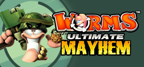 Game Banner Worms Ultimate Mayhem