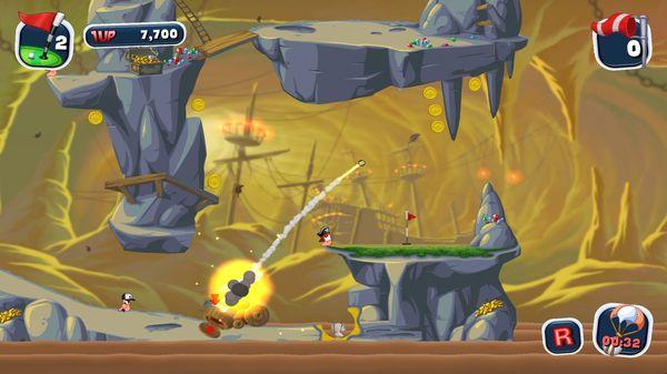 Worms Crazy Golf скриншот