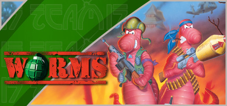 Game Banner Worms