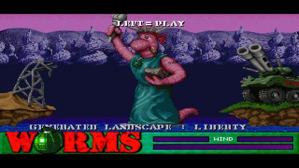 Worms скриншот