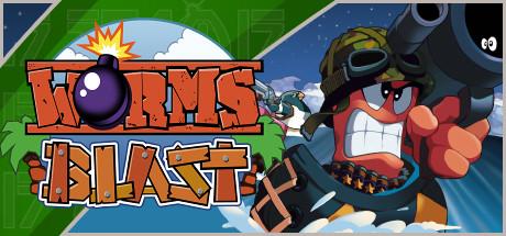 Game Banner Worms Blast