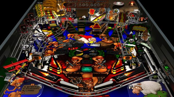 Worms Pinball скриншот