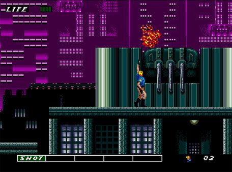 скриншот ESWAT: City Under Siege 1
