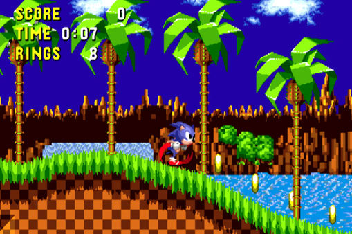 скриншот Sonic the Hedgehog 1
