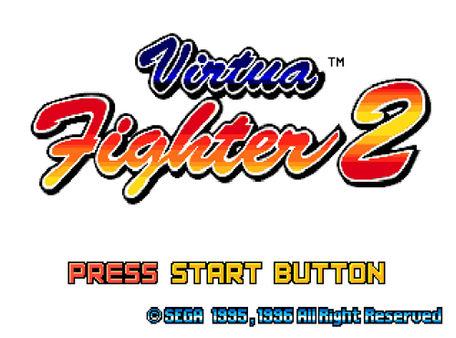 скриншот Virtua Fighter 2 0