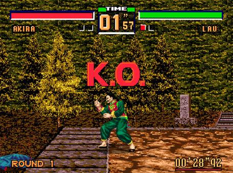 скриншот Virtua Fighter 2 2