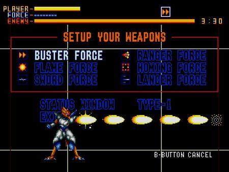 скриншот Alien Soldier 3