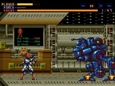 скриншот Alien Soldier 2