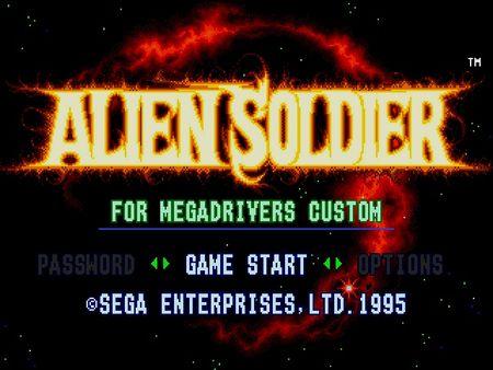 скриншот Alien Soldier 0
