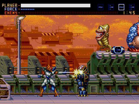 скриншот Alien Soldier 1
