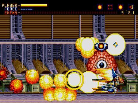 скриншот Alien Soldier 4