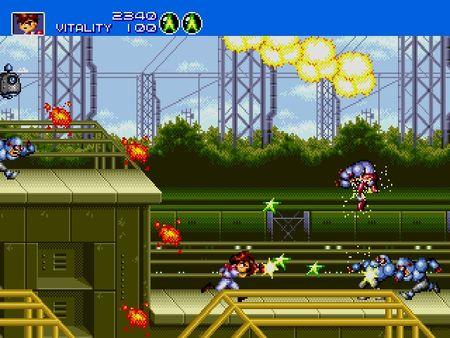 скриншот Gunstar Heroes 5