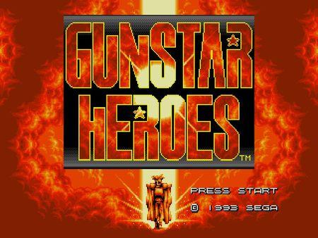 скриншот Gunstar Heroes 0