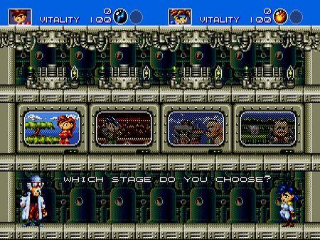 скриншот Gunstar Heroes 2