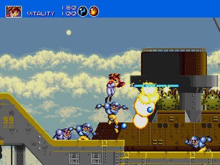 скриншот Gunstar Heroes 4