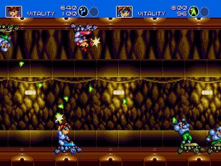 скриншот Gunstar Heroes 3