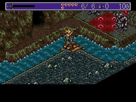 скриншот Landstalker: The Treasures of King Nole 3