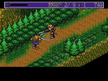 скриншот Landstalker: The Treasures of King Nole 4
