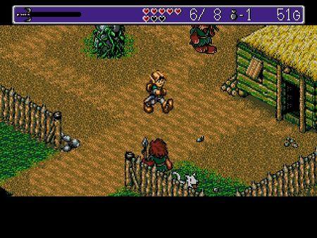 скриншот Landstalker: The Treasures of King Nole 5
