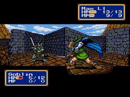 скриншот Shining Force 2