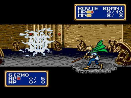 скриншот Shining Force II 1