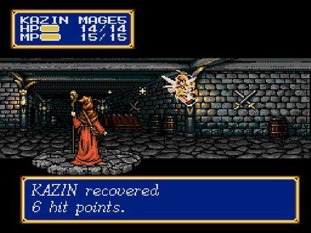 скриншот Shining Force II 5