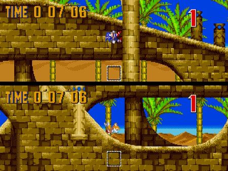 скриншот Sonic 3 and Knuckles 5