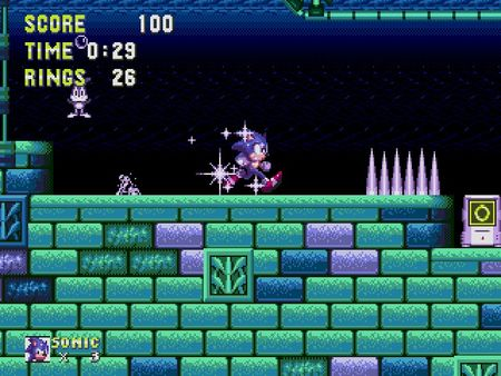 скриншот Sonic 3 and Knuckles 4
