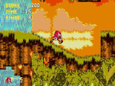 скриншот Sonic 3 and Knuckles 2