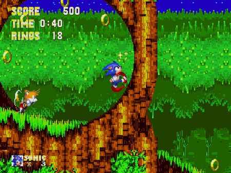 скриншот Sonic 3 and Knuckles 1