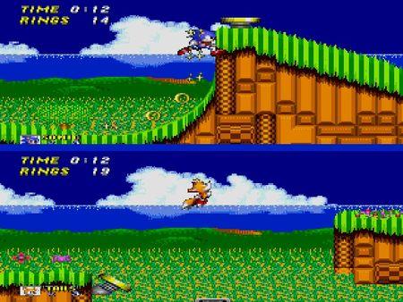скриншот Sonic the Hedgehog 2 4