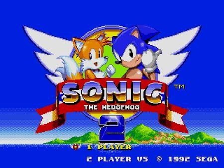 скриншот Sonic the Hedgehog 2 0