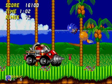 скриншот Sonic the Hedgehog 2 5