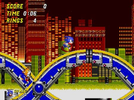 скриншот Sonic the Hedgehog 2 2