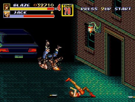 скриншот Streets of Rage 2 2