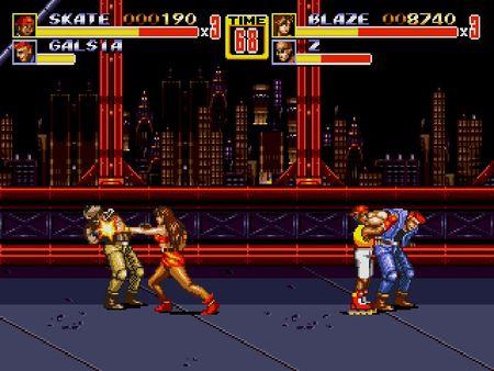 скриншот Streets of Rage 2 5