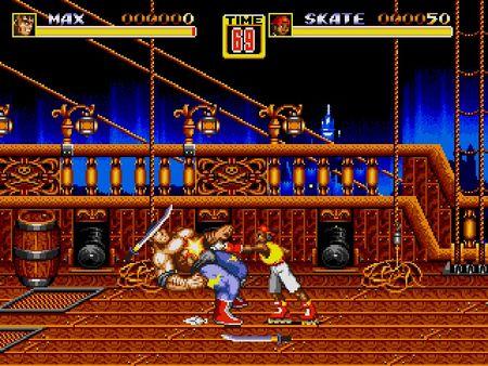 скриншот Streets of Rage 2 4