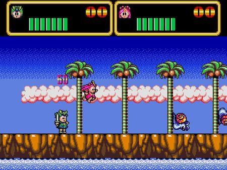 скриншот Wonder Boy III: Monster Lair 1