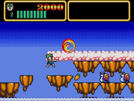 скриншот Wonder Boy III: Monster Lair 4
