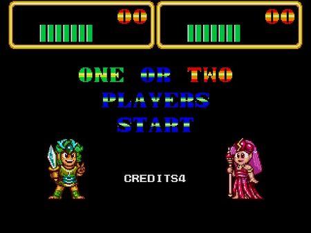 скриншот Wonder Boy III: Monster Lair 2