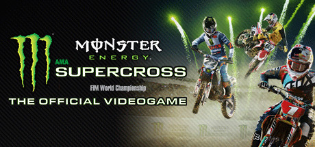 Monster Energy Supercross - The Official Videogame Cover Image