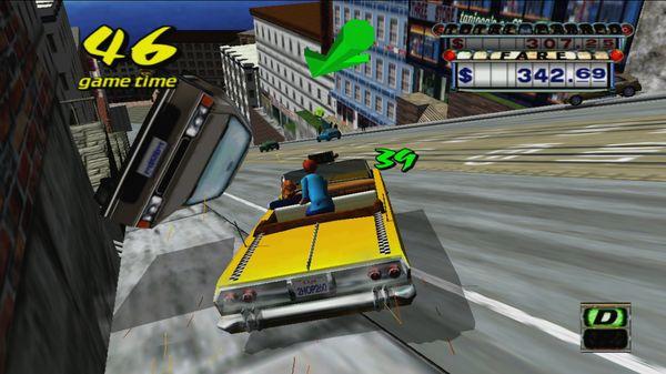 Скриншот №3 к Crazy Taxi