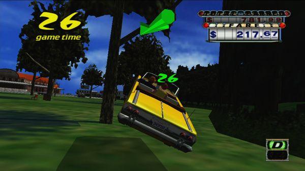 Crazy Taxi (1999) скриншот