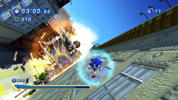 Скриншот №3 к Sonic Generations Collection