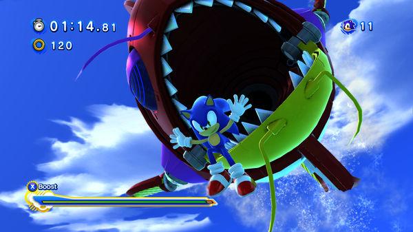 Скриншот №1 к Sonic Generations Collection