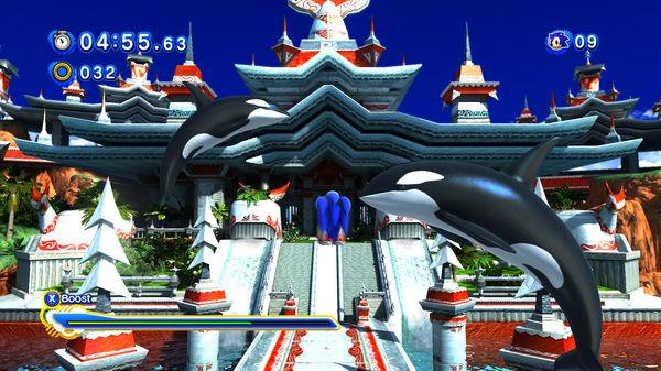 Скриншот №5 к Sonic Generations Collection