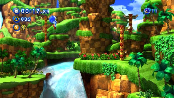 Скриншот №10 к Sonic Generations Collection