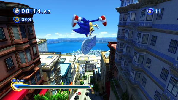 Скриншот №2 к Sonic Generations Collection